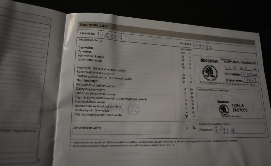 Skoda Octavia 1,6 Tdi Elegance Dsg Autom. (2013)