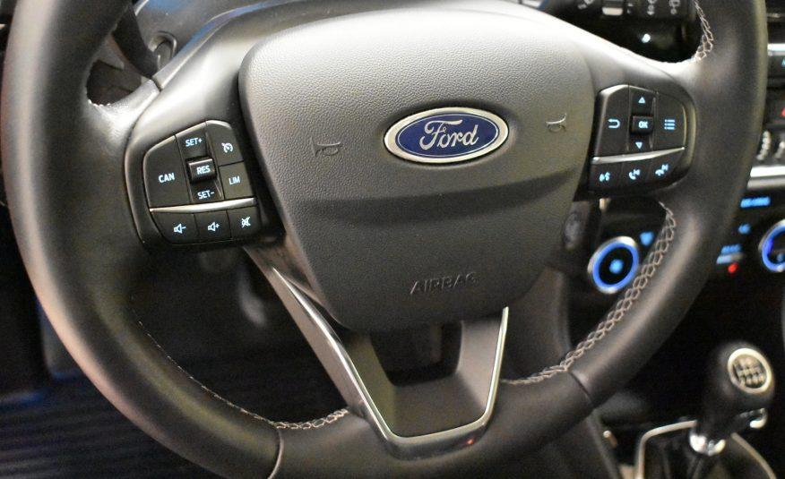 Ford Fiesta 1,0 Ecoboost 100hv M6 Titanium 5-ovinen (2018)